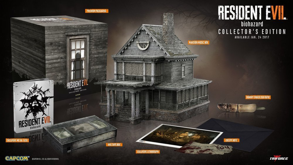 Resident Evil 7 collectors edition