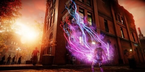 Infamous Second Son PS4 Pro