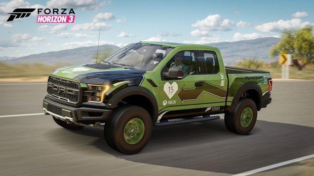 Forza Horizon 3 Xbox 15th anniversary