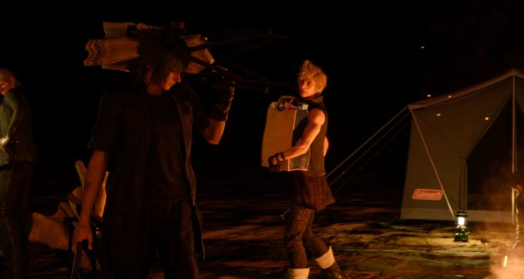 Final Fantasy XV night