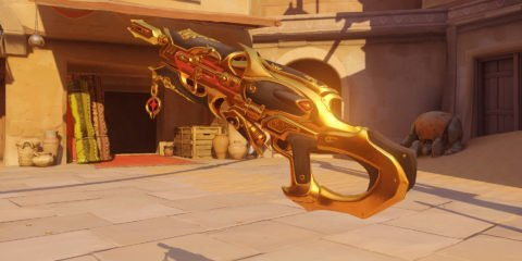 Overwatch Widowmaker Huntress Golden Gun