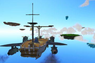 Worlds Adrift ship