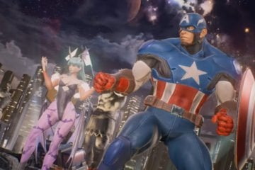 Marvel vs Capcom Infinite Captain America Morrigan