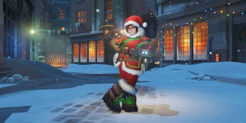 Overwatch Mei holiday skin