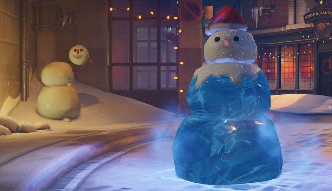 Overwatch Mei snowman