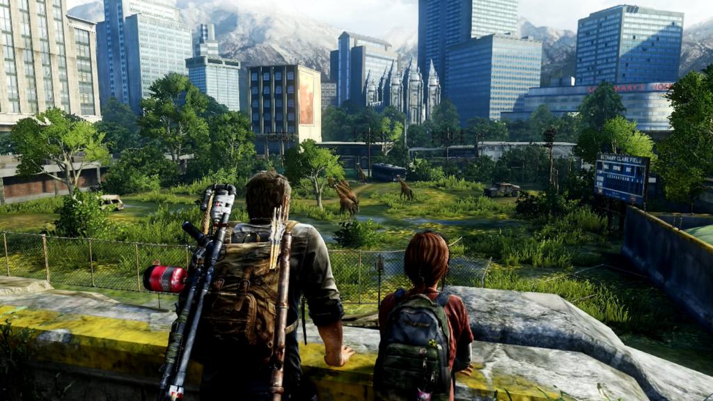 The Last of Us giraffes