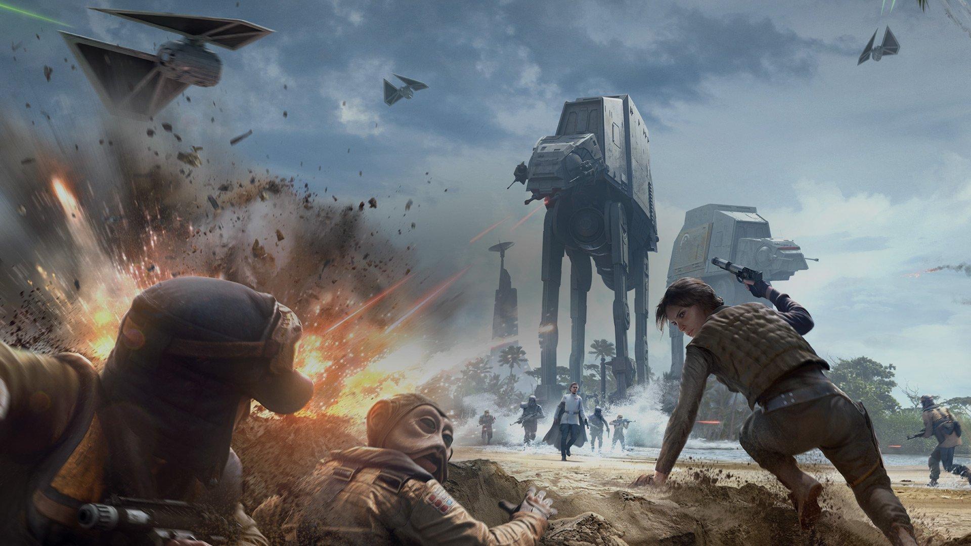 Rogue One Scarif Update Arrives For Star Wars Battlefront