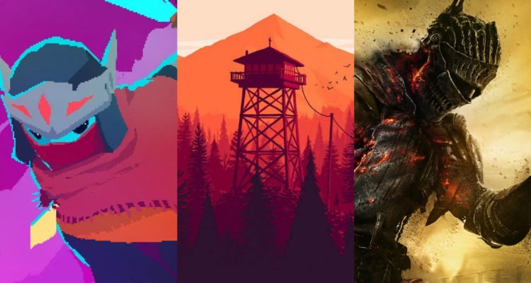 Best Soundtrack, Hyper Light Drifter, Firewatch, Dark Souls III