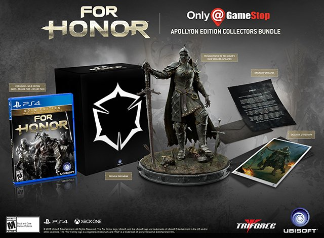 For Honor Collector's Edition