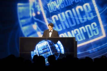 Game Developers Choice Awards Tim Schafer 2015