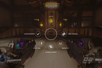 Overwatch Emote Wheel