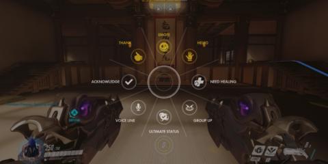Overwatch Emote Wheel