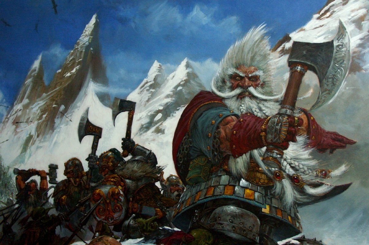 The White Dwarf Grombrindal Joins Total War Warhammer