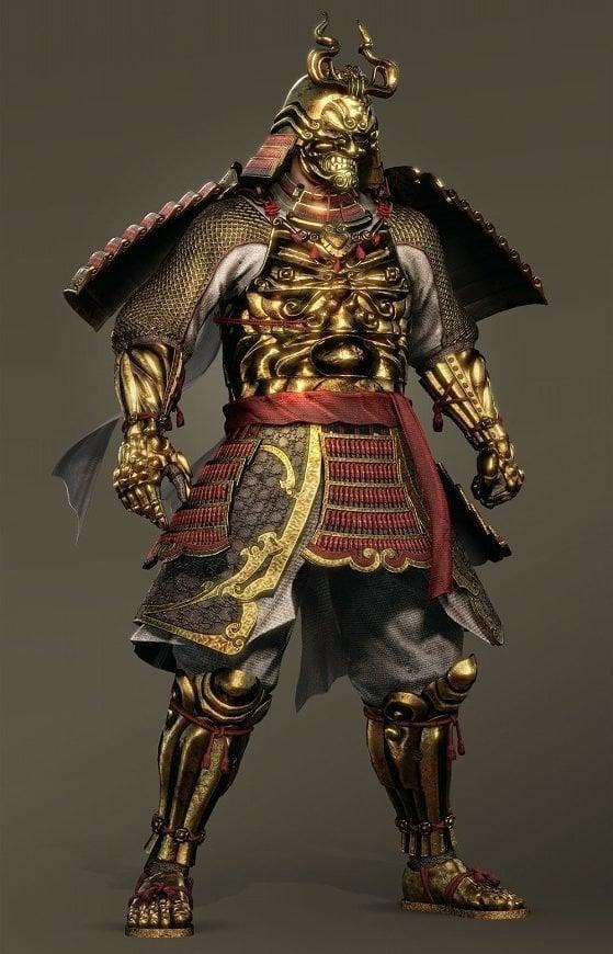 Golden Nioh Armor