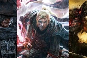 Nioh, Bloodborne, Dark Souls